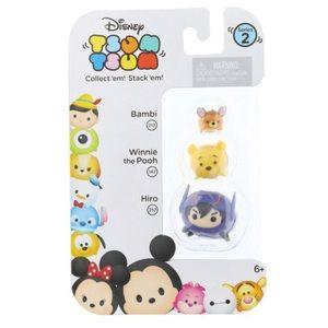 Tsum Tsum Series2 Hiro, Winnie the Pooh, & Bambi